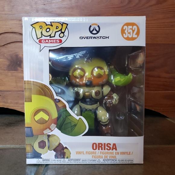 Overwatch-Orisa Brand New in Box Funko-Pop Keychain